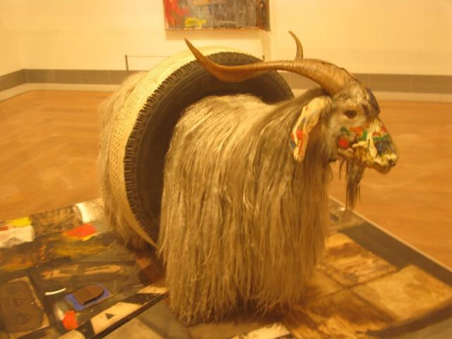Серенький козлик...в Музее современного искусства