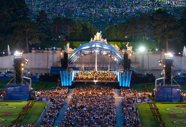 Ночной концерт Венского Филармонического Оркестра