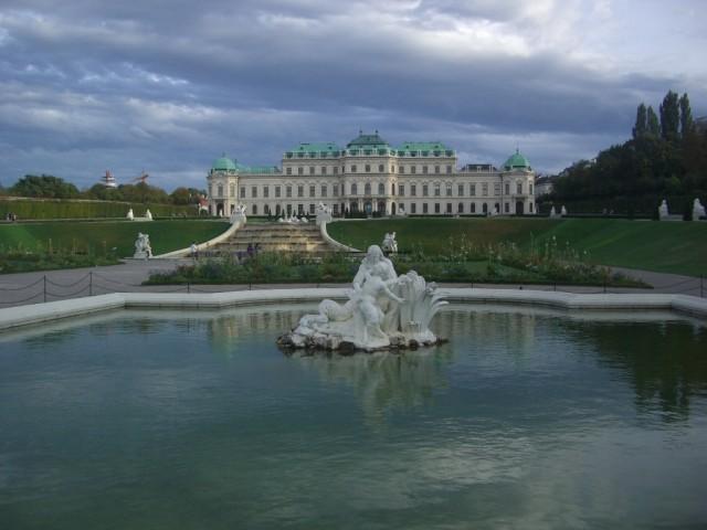 Вена,Бельведерский дворец