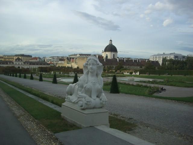 Вена,Бельведерский парк