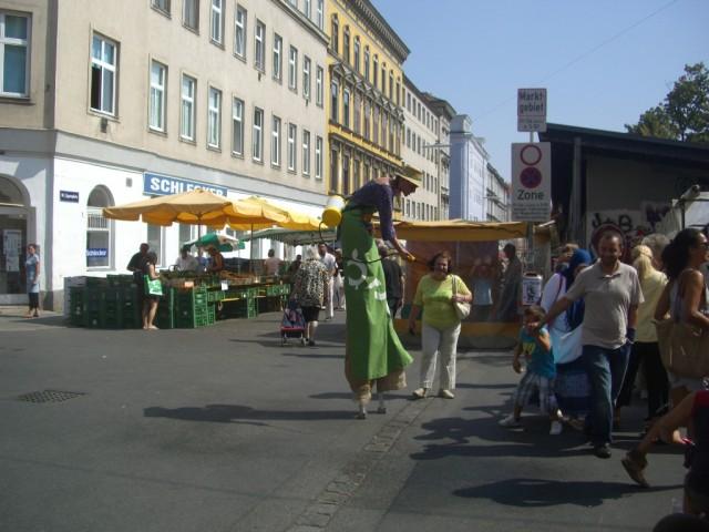 Вена,около рынка