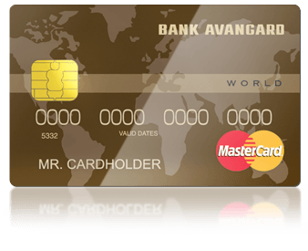 Кредитная карта Авангард Master Card World