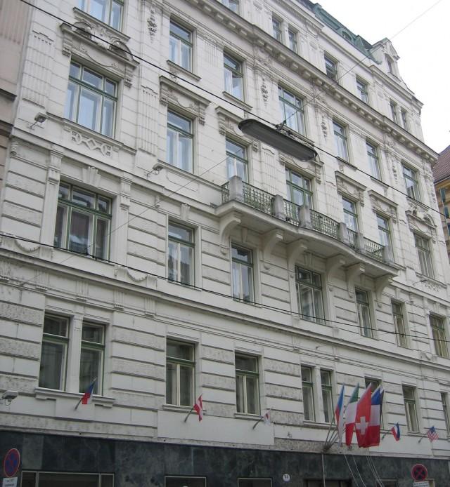 Здание, в котором расположен Венский камерный оперный театр