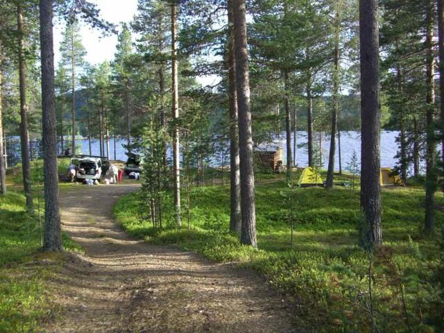 Финляндия, ночевка на пути в Норвегию