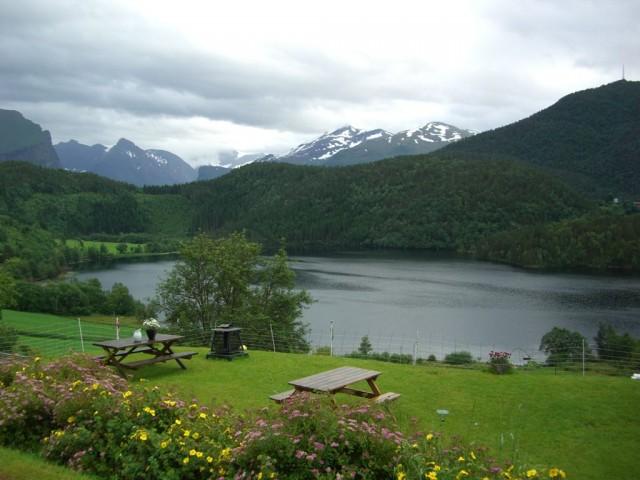 Норвегия,озеро