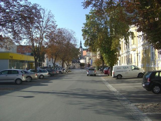 Кремс,напротив ж.д.вокзала
