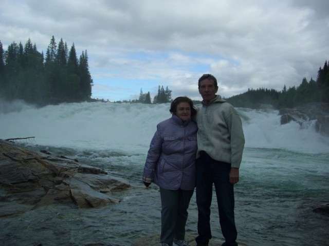 Норвегия, водопад