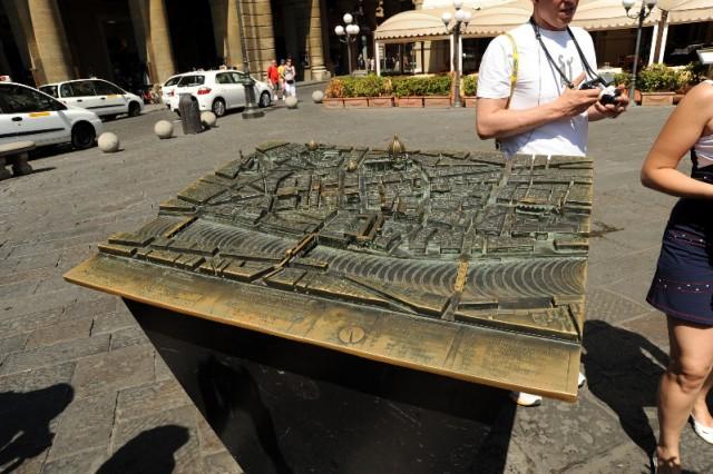 Макет цента Флоренции