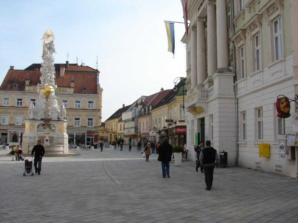 Баден оказался поистине курортным городком.