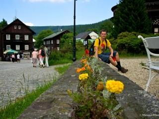 Поездка в Карлова-Студанка и на гору Прадед