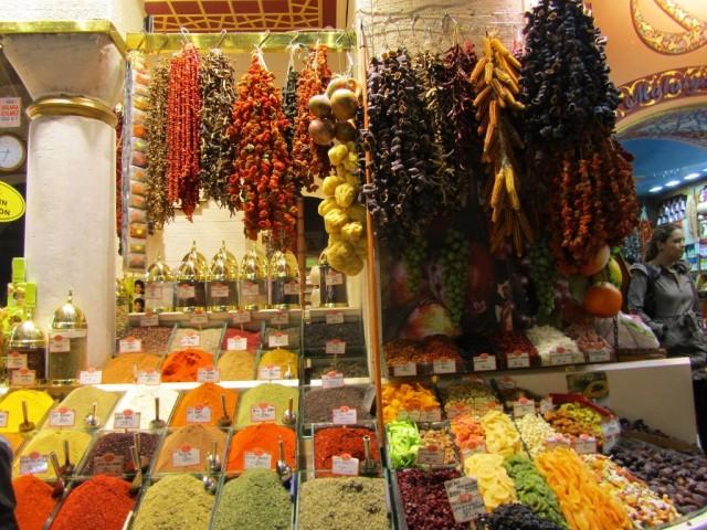 Краски Египетского базара