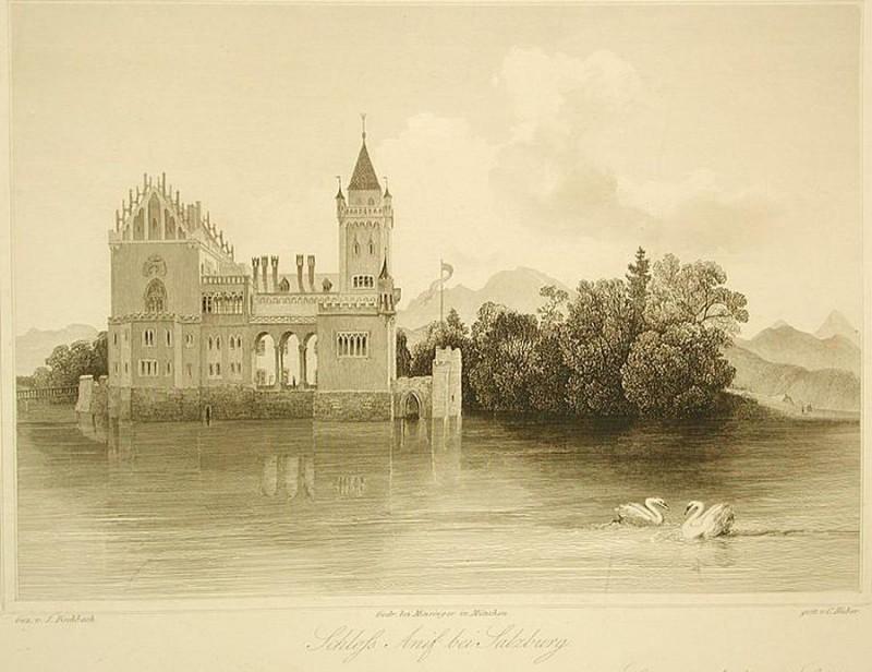 Замок Аниф (1852 г.)
