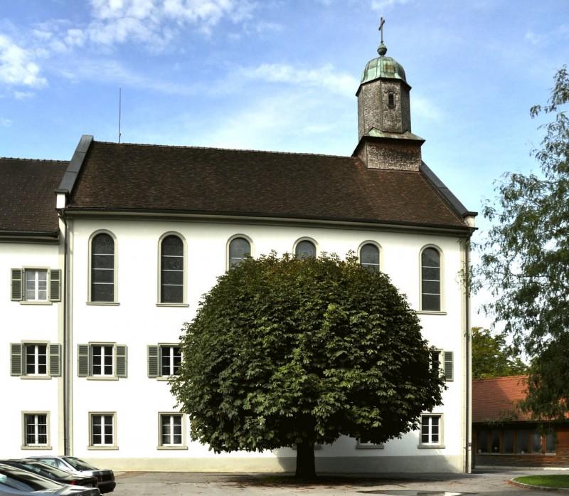 Внутренний двор аббатства