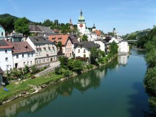 Вайдхофен-на-Ибсе — средневековый город в Нижней Австрии