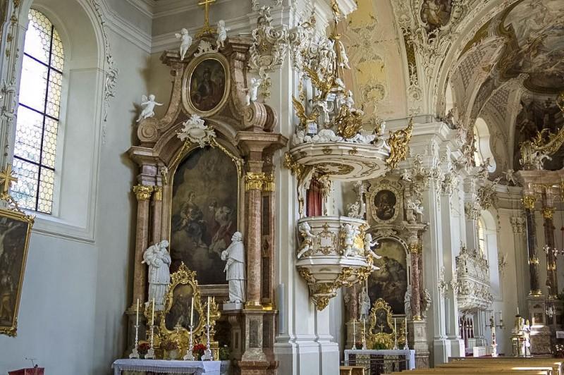 Интерьер Вильтенской базилики