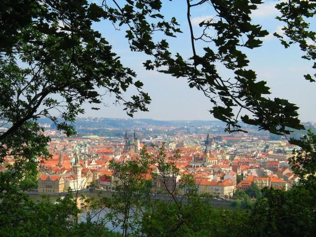 Прага: прогулка по Саду Кинских