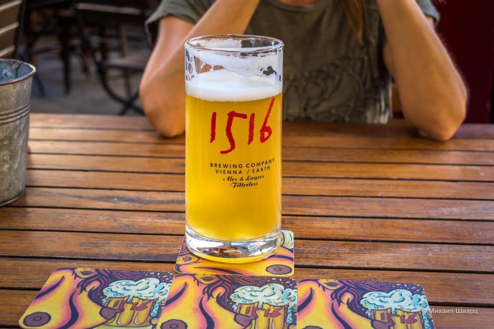 Светлое пиво в 1516