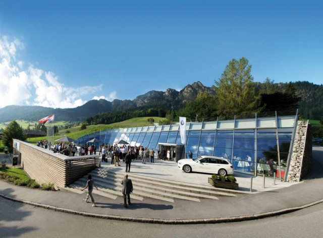 Конгресс-центр (Congress Centrum Alpbach)