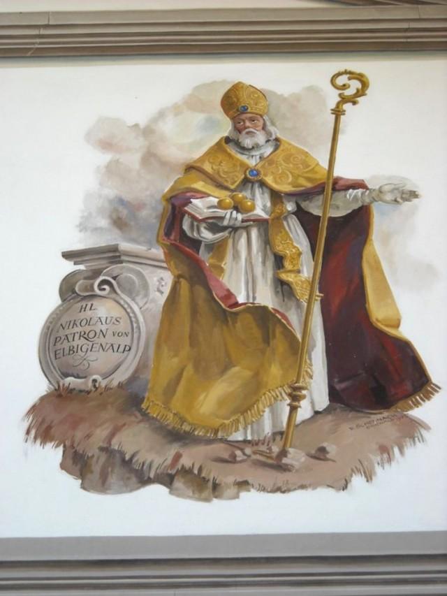 Фрески в церкви св. Николаса