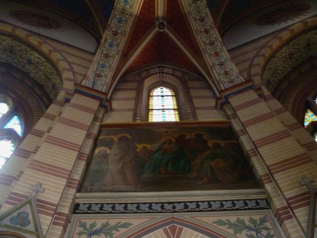 Интерьер церкви Мария-фом-Зиге