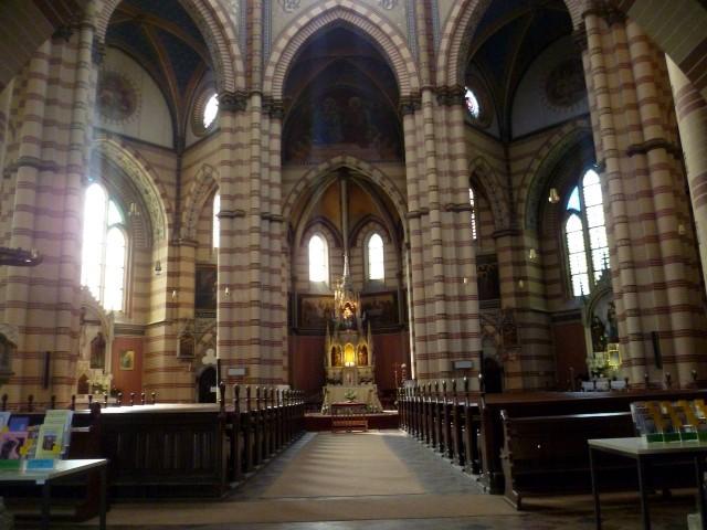 Интерьер церкви Марии Победительницы