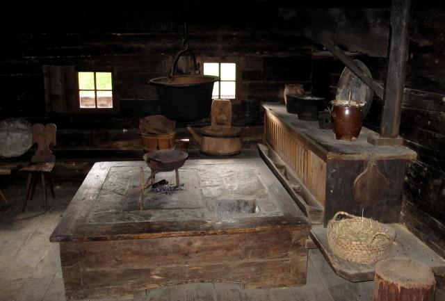 В  музее альпийского фермерства