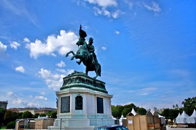 Памятник эрцгерцогу Карлу Австрийскому