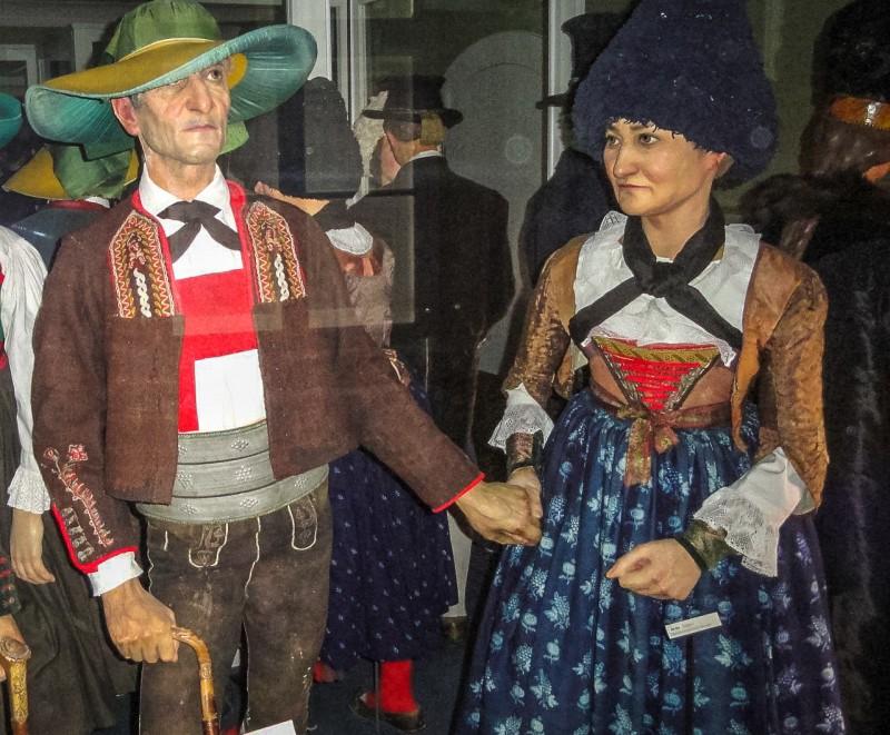 Одежда жителей Тироля