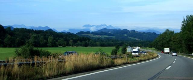 По Австрии на авто. И немного Германии