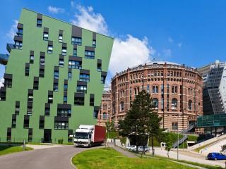 Венские газометры — недюжинный «город на городе»