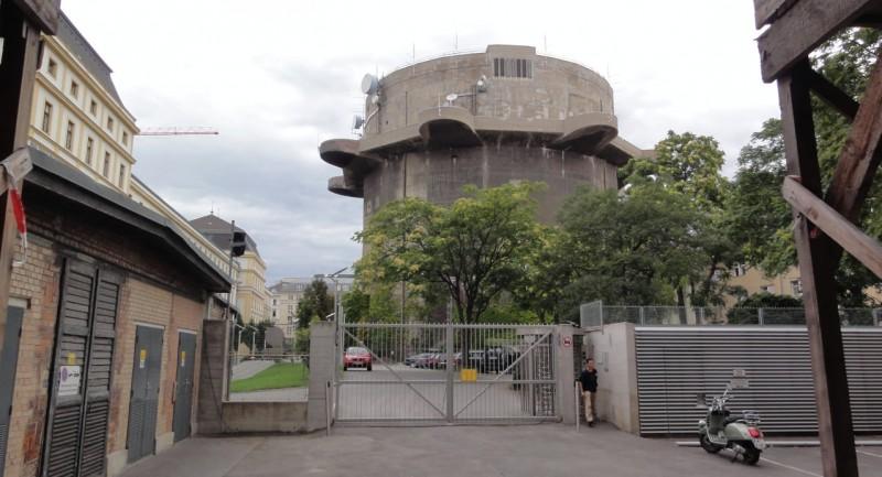 Башня на территории военной базы Stiftskaserne