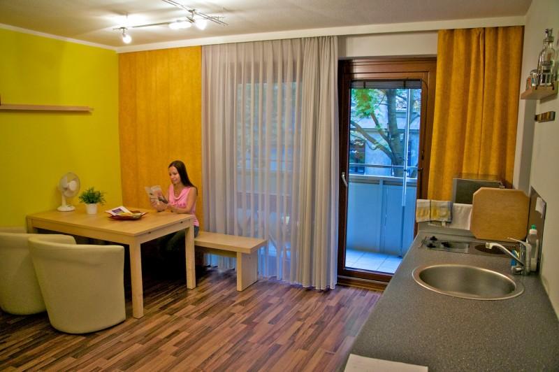 Наши апартаменты в Вене