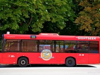 Экскурсионный автобус The Sightseer в Инсбруке