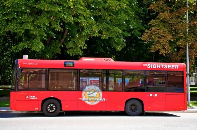 Экскурсионный автобус The Sightseer