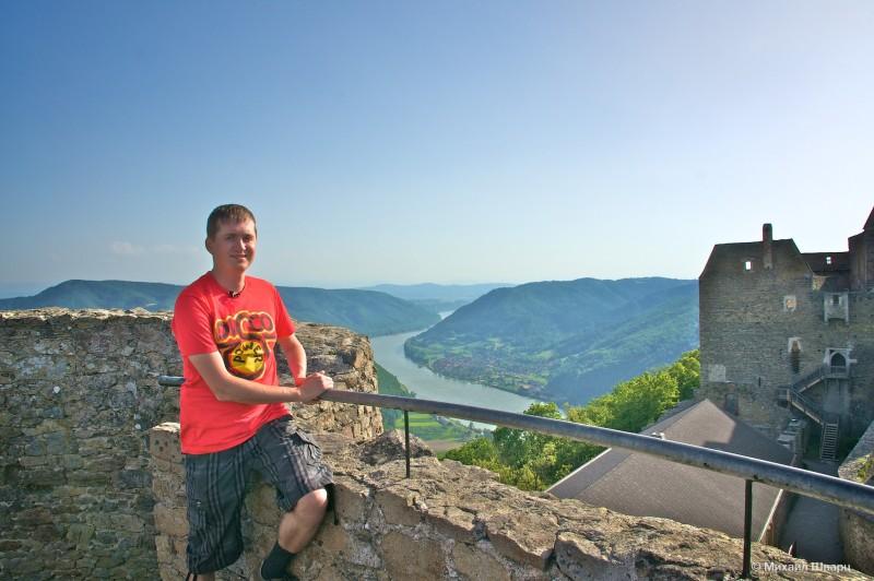 Панорама с замка Аггштайн