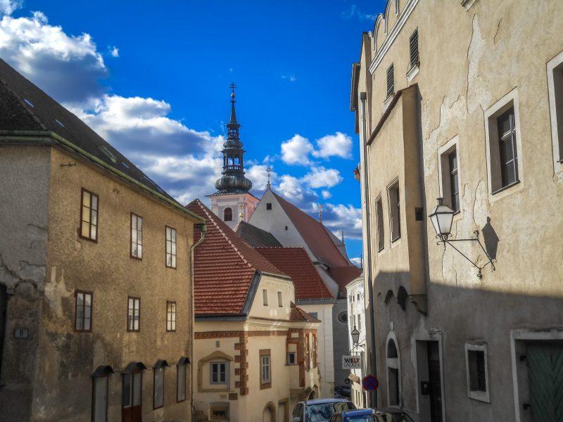 Кремс - город, где заканчивается долина Вахау