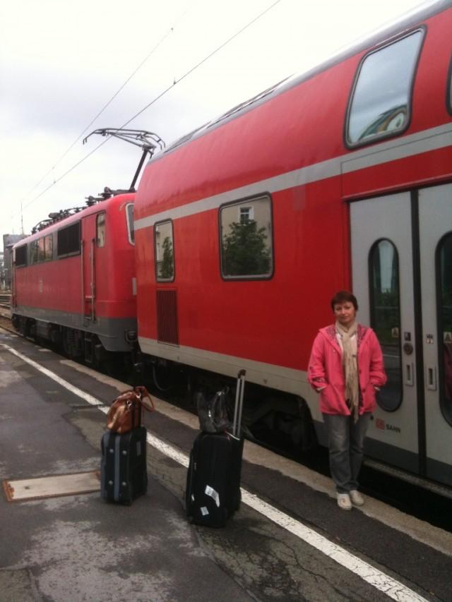 Поезда и замки трех стран