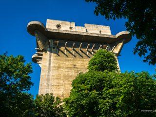 Зенитные башни люфтваффе на Вене