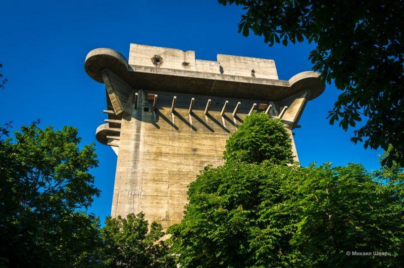 Зенитная башня люфтваффе (Flakturm)