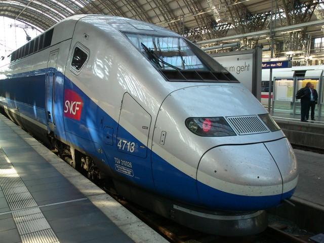 Train a Grande Vitesse во Франции