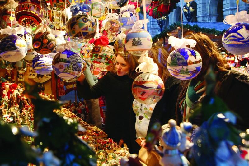 Рождественский Базар на Фрайунг