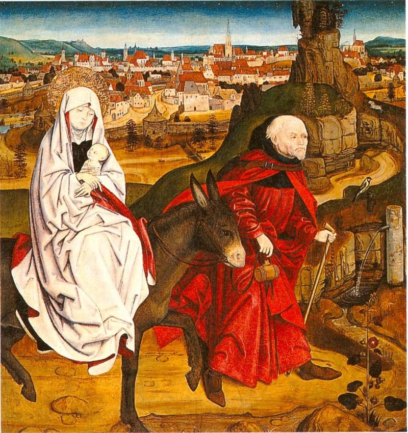 Фрагмент старого алтаря 1470 г.