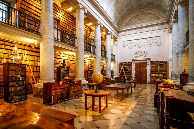 Библиотека монастыря