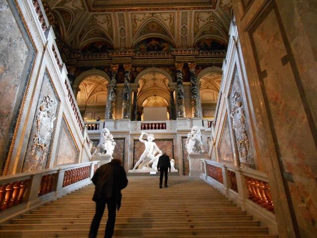 Парадная лестница музея