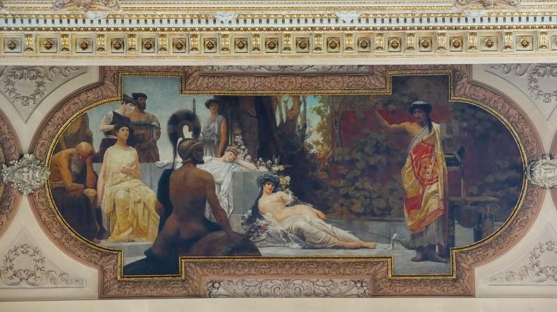 Фрески братьев Климт