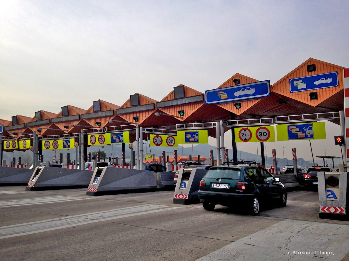 Платные дороги Испании