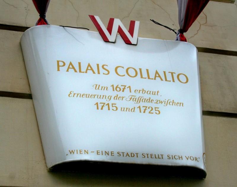 Дворец Коллальто (Palais Collalto)