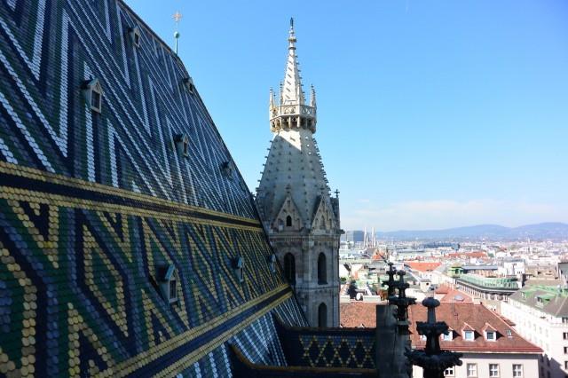 Вид с башни Собора