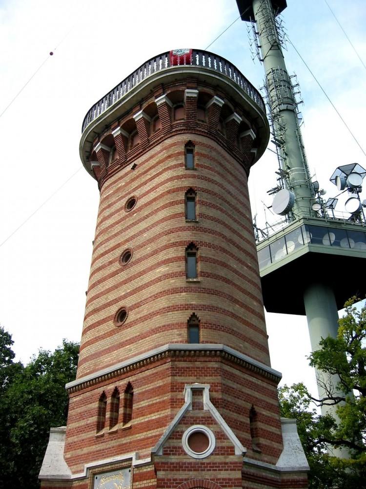 Обзорная башня Штефаниварте  (Stephaniewarte)