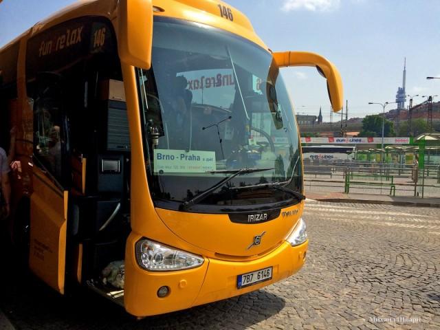 Как доехать из Праги в Брно